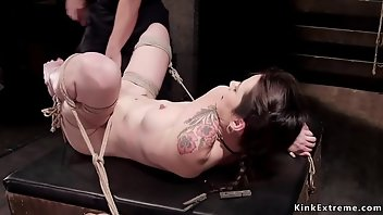 Tied Rough BDSM Fetish