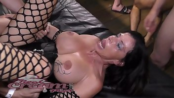 Midget Stockings Cumshot Facial