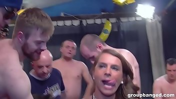 Mask Facial Deepthroat Gangbang