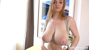 Lactating Boobs Blonde Ass