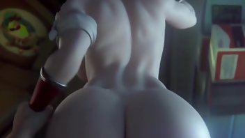 Tentacle 3D Ass POV