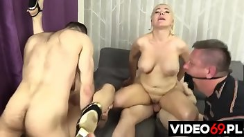 Bound MILF Wife Polish