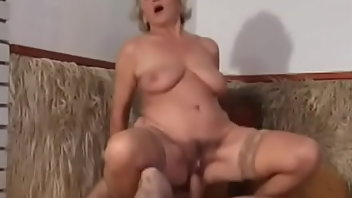 Saggy Tits Stockings Hardcore Blonde