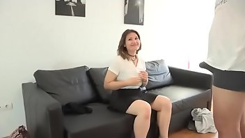 Taxi Teen European Blowjob